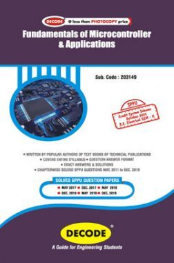 DECODE Fundamentals Of Microcontroller & Applications For SPPU 15 Course (SE - II - Electrical - 203149)