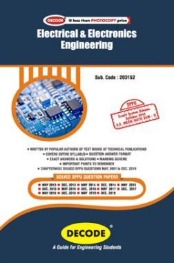 DECODE Electrical & Electronics Engineering For SPPU 15 Course (SE - II - Mech. - 203152)