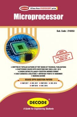 DECODE Microprocessor For SPPU 15 Course (SE - II - Comp. - 210253)