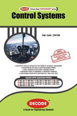 DECODE Control Systems For SPPU 15 Course (SE - II - Elex./E&Tc - 204188)