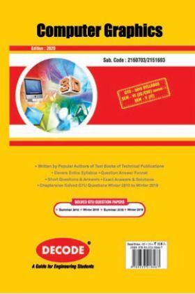 DECODE Computer Graphics For GTU University (VI - CSE/IT-2160703)