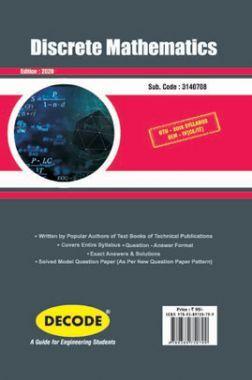 DECODE Discrete Mathematics For GTU University (IV - CSE/IT -3140708)