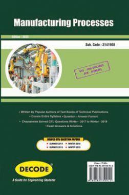 DECODE Manufacturing Processes For GTU University (IV - MECH. -3141908)