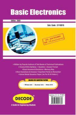 DECODE Basic Electronics For GTU University (II- COMMON -3110016)