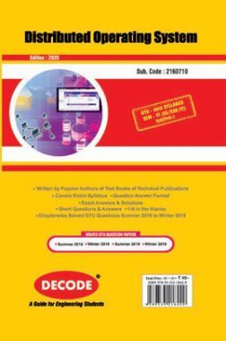 DECODE Distributed Operating System For GTU University (VI- CSE/IT- 2160710)