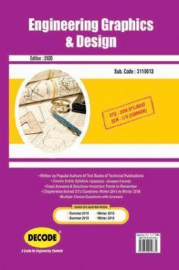 DECODE Engineering Graphics & Design For GTU University (II- COMMON -3110013)