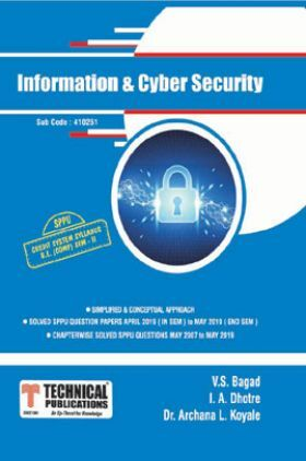 Information & Cyber Security For SPPU 15 Course (BE - II - Comp. - 410251)