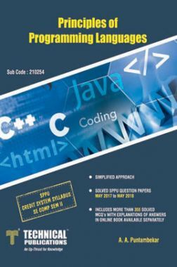 Principles Of Programming Languages For SPPU 15 Course (SE - II - Comp. - 210254)