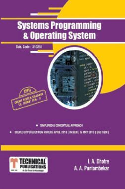 Systems Programming & Operating System For SPPU 15 Course (TE - II - Comp. - 310251)