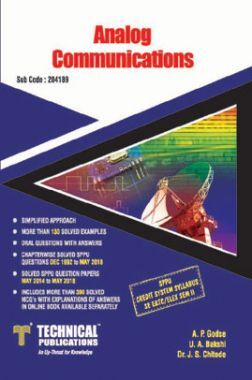 Analog Communications For SPPU 15 Course (SE - II - Elex./E&Tc - 204189)