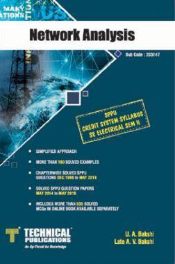 Network Analysis For SPPU 15 Course (SE - II - Electrical - 203147)
