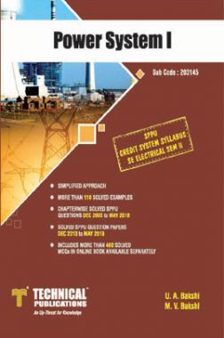 Power System I  For SPPU 15 Course (SE - II - Electrical - 203145)