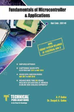 Fundamentals Of Microcontroller & Applications For SPPU 15 Course (SE - II - Electrical - 203149)