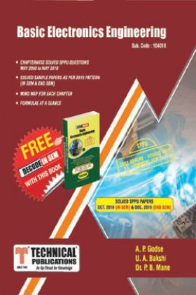Basic Electronics Engineering For SPPU 19 Course (FE - II - Common -104010)