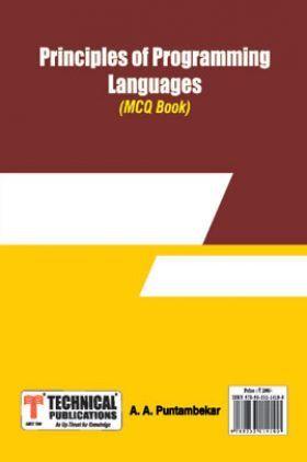 Principles Of Programming Languages MCQ BOOK