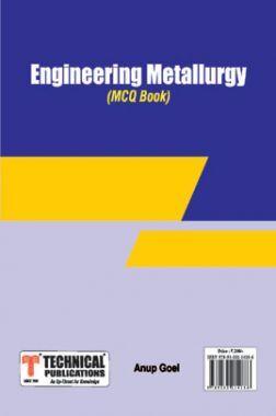 Engineering Metallurgy MCQ BOOK
