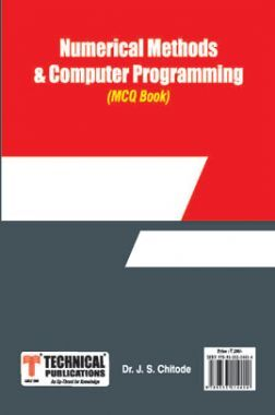 Numerical Methods And Computer Programming MCQ BOOK