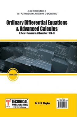 Ordinary Differential Equations And Advanced Calculus For MIT - ADT University's Course 18 (II - COMMON - 18BTMT201 )