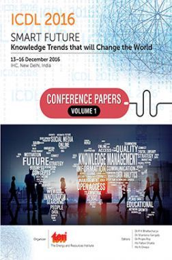 International Conference On Digital Libraries (Icdl) 2016:  Smart Future: Knowledge Trends That Will Change The World