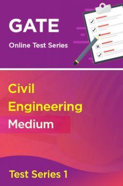 GATE Civil Engineering Medium Test Series 1
