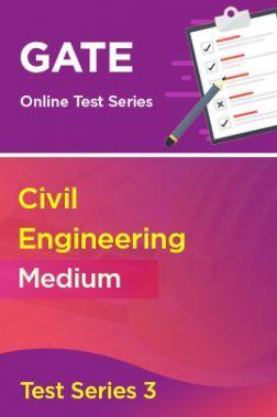 GATE Civil Engineering Medium Test Series 3