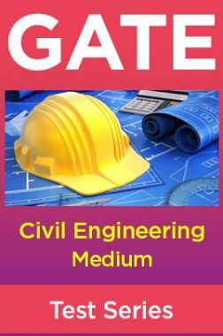 GATE Civil Engineering Medium Test Series
