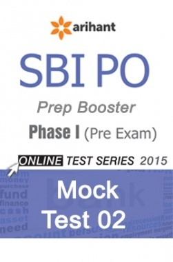 SBI PO Prep Booster for Prelims