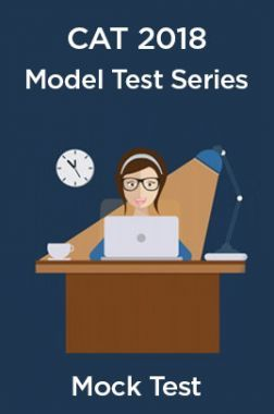 Model Test Series For CAT 2018