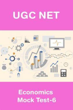 UGC NET Economics Mock Test-6