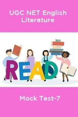 UGC-NET English Literature Mock Test-7
