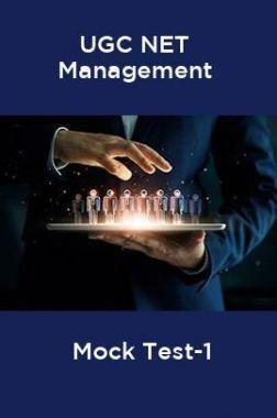 UGC-NET Management Mock Test-1