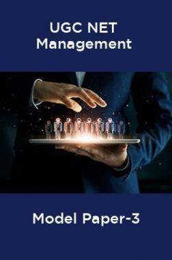 UGC-NET Management Model Paper-3