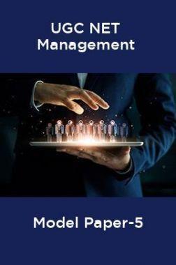 UGC-NET Management Model Paper-5