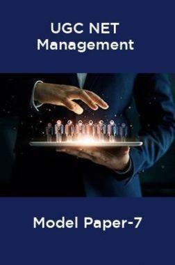 UGC-NET Management Model Paper-7