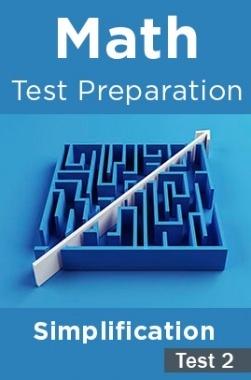 Math Test Preparation Problems on Simplification Part 2