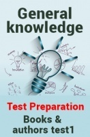 General Knowledge Test Preparations On Books And Authors Part 1