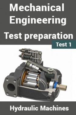 Mechanical Engineering Test Preparations On Hydraulic Machines Part 1