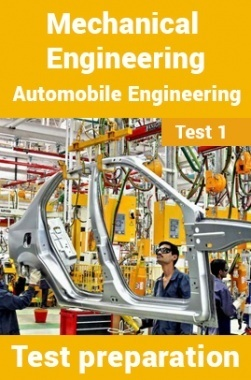Mechanical Engineering Test Preparations On Automobile Engineering Part 1