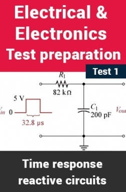 Electronics And Communication Test Preparations On Time Response of Reactive Circuits Part 1