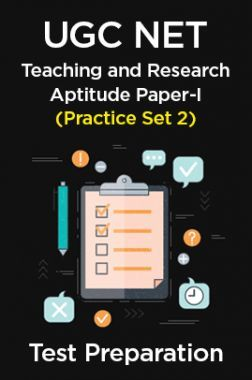 UGC NET Teaching and Research Aptitude Paper-I  (Practice Set 2)