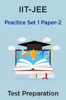 IIT-JEE Practice Set 1 Paper-2