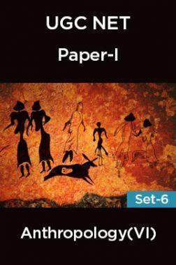 UGC-NET Paper-I Anthropology (VI) Set-6