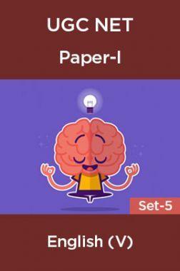 UGC-NET Paper-I English (V) Set-5
