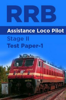 RRB Assistance Loco Pilot Stage II Test Paper-1