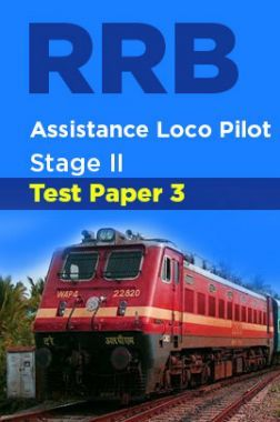 RRB Assistance Loco Pilot Stage II Test Paper-3