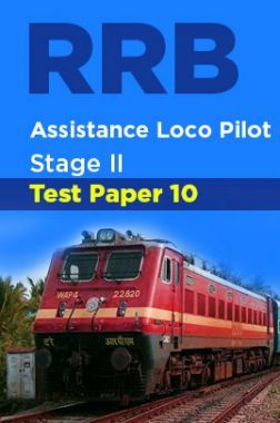 RRB Assistance Loco Pilot Stage II Test Paper-10