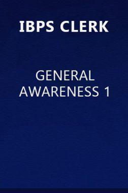 IBPS Clerk General Awareness 1