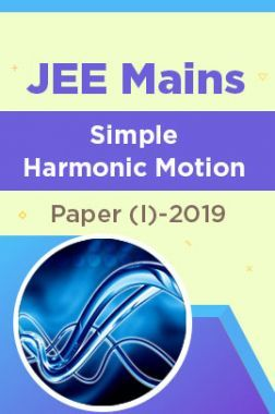 JEE Mains Simple Harmonic Motion Paper (I)-2019