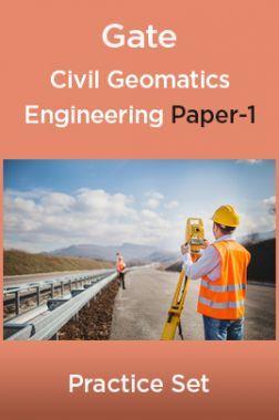 Gate Civil Geomatics Engineering paper-1