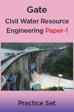 Gate Civil Water Resource Engineering Paper-1